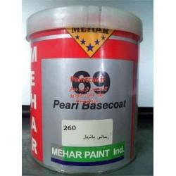 رنگ زغالی (مشکی) پاترول شماره رنگ (کدرنگ) 260 (محار)