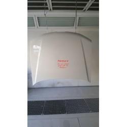 درب موتور پژو پارس سفید رنگ کوره ای فابریک کد رنگ 29020C