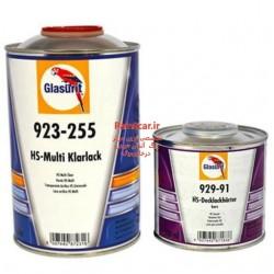 کلر  و هاردنر (کیلر به همراه خشکن ) ضدخش گلازوریت 255-923  HS-Multi Clear