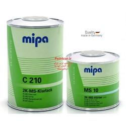 کلیر دوجزئی نرمال+هاردنر MS  C210 + MS 10 میپا Mipa ساخت آلمان