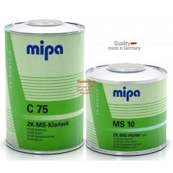 کلیر دوجزئی سوپر + هاردنر MS  C75+ MS 10 میپا Mipa ساخت آلمان