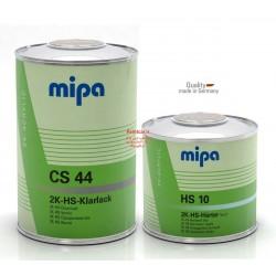 کلیر دوجزئی ضدخش سرامیکی+هاردنر HS CS44 + HS10 میپا Mipa ساخت آلمان