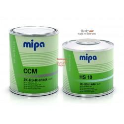 پک کلر و هاردنر تمام مات  ( کیلر تمام مات به همراه خشکن Mipa ) HS CCM + HS10