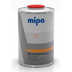 تینر مخصوص رنگهای بیس کوت متالیک نرمال 1 لیتری میپا Verdünnung  Mipa