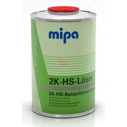 تینر مخصوص لبه گیری , لبه کشی های سالید 1 لیتری میپا Mipa