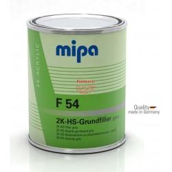 آستردوجزئی پرکننده های سالید سفید میپا Mipa 2K HS-Grund Filler F54