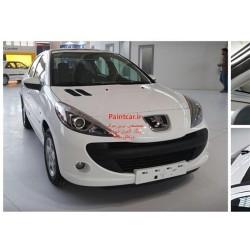 پک خشگیری و ترمیم رنگ اتومبیل پژو 207 سفیدکد رنگ 29020R